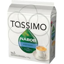 Elco Tassimo Singles Nabob Espresso Coffee Pod - Compatible with Tassimo Brewer - Espresso, Velvety - 3.9 oz - 14 / Bag
