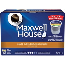 Elco Maxwell House Pods House Blend Coffee Pod - House Blend, Maxwell House - Medium - 12 / Box