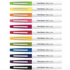 Paper Mate Flair Felt Tip Pens - Bold Pen Point - Assorted - 12 / Pack
