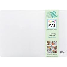"Funny Mat Drawing/Coloring Mat - Coloring - 18.90"" (480 mm) x 13.19"" (335 mm) - 1 Each - Polypropylene, Felt"