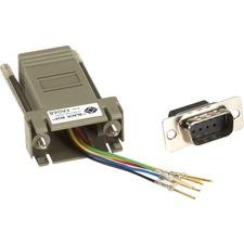 Black Box DB9/RJ-11 Adapter Kit, Male