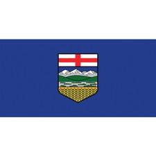 """L'étendard Province Flag - Canada - Alberta - 72"""" x 36"""" - Nylon"""