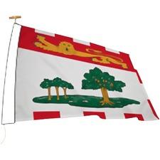 "L'étendard Province Flag - Canada - Prince Edward Island - 72"" x 36"" - Nylon"