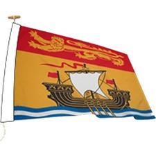 "L'étendard Territory Flag - Canada - New Brunswick - 72"" x 36"" - Nylon"