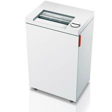 "MBM Destroyit 2465CC Office Shredder - Cross Cut - 11 Per Pass - for shredding Paper Clip, Staples - 0.1"" x 0.6"" Shred Size - 8.23 m/min - 9.5"" Throat - 49.21 L Wastebin Capacity"