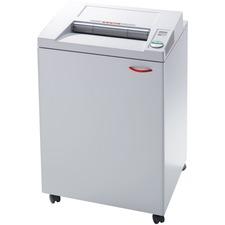 "MBM Destroyit 4002CC Office Shredder - Cross Cut - 26 Per Pass - for shredding DVD, CD, Paper - 0.2"" x 1.5"" Shred Size - 16"" Throat - 166.56 L Wastebin Capacity"