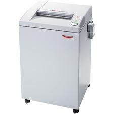 "MBM Destroyit 4005CC Office Shredder - Cross Cut - 32 Per Pass - for shredding DVD, CD, Paper - 0.2"" x 1.5"" Shred Size - 16"" Throat - 166.56 L Wastebin Capacity"