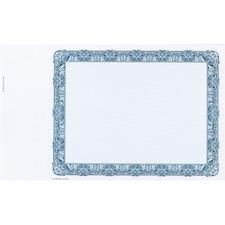 eSc Share Certificate - Laser Compatible - Blue - 10 / Pack