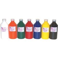 Funstuff Acrylic Paint - 1 L - 1 Each - Red