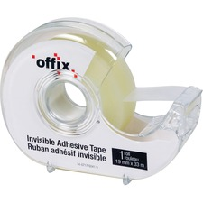 "Offix Invisible Tape - 36 yd (32.9 m) Length x 0.75"" (19 mm) Width - 1 Each"