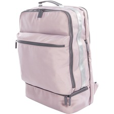 """bugatti Traveller Carrying Case (Backpack) for 15.6"""" Notebook - Blush - Polyester - Shoulder Strap, Trolley Strap, Handle - 17"""" (431.80 mm) Height x 12"""" (304.80 mm) Width x 6"""" (152.40 mm) Depth - 1 Pack"""