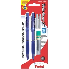 Pentel Twist-Erase GT Mechanical Pencil - 2 / Pack
