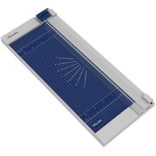 """Swingline Trimmer - 8 Sheet Cutting Capacity - 12"""" (304.80 mm) Cutting Length - Rotating Blade, Easy to Use, Sturdy, Alignment Grid, Dual Scale Ruler, Durable - Metal - 1 Each"""