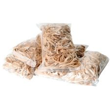 """Offix Rubber Band - 0.50"""" (12.70 mm) Width - 3.50"""" (88.90 mm) Thickness - Elastic - 1 Each"""