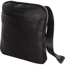 """bugatti Horizon Carrying Case for 10.1"""" Tablet - Black - Full Grain Leather - Carrying Strap - 11.25"""" (285.75 mm) Height x 10"""" (254 mm) Width x 1.50"""" (38.10 mm) Depth - 1 Pack"""