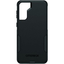 OtterBox Commuter Smartphone Case - For Samsung Galaxy S21+ Smartphone - Black - Drop Resistant, Bump Resistant, Dirt Resistant, Dust Resistant, Scrape Resistant, Impact Absorbing, Impact Resistant, Lint Resistant