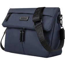 """bugatti Carrying Case Tablet - Navy - Polyester - Shoulder Strap - 8.50"""" (215.90 mm) Height x 13"""" (330.20 mm) Width x 3.50"""" (88.90 mm) Depth"""