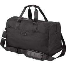 "bugatti Carrying Case (Duffel) Apple iPad Notebook - Black - Water Proof Pocket - Polyester - Shoulder Strap, Trolley Strap - 11"" (279.40 mm) Height x 19"" (482.60 mm) Width x 8.50"" (215.90 mm) Depth"