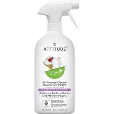 Bio Spectra Attitude Disinfectant - Liquid - 27.1 fl oz (0.8 quart) - Thyme, Lavender Scent - 1 Each