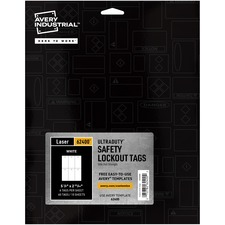 AVE62400 - Avery® UltraDuty Lock Out Tag Out Hang Tags