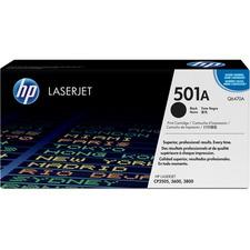HP 501A (Q6470A) Original Toner Cartridge - Single Pack - Laser - 6000 Pages - Black - 1 Each