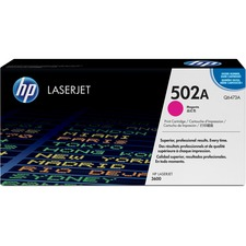 HP 502A (Q6473A) Original Toner Cartridge - Single Pack - Laser - 4000 Pages - Magenta - 1 Each