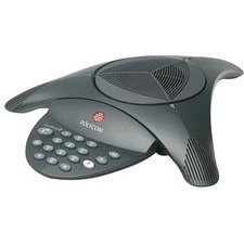 Polycom SoundStation2 Conference Telephone - 1 x Phone Line(s) - RJ-11 , RCA - Black