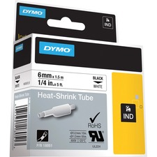 DYM 18051 Dymo Rhino Heat Shrink Tube Labels DYM18051