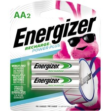 Energizer NH15BP-2 AA Nickel-metal Hydride Rechargeable Battery - AA - Nickel Metal Hydride (NiMH) - 2 / Pack