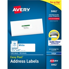 AVE8462 - Avery&reg Easy Peel® Address Labels with Sure Feed™ Technology