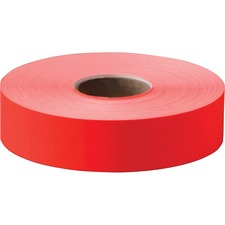 "Monarch Model 1131 Pricemarker Labels - 7/16"" Width x 2 5/32"" Length - Red - 2500 / Roll"