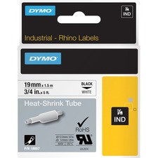 DYM 18057 Dymo Rhino Heat Shrink Tube Labels DYM18057