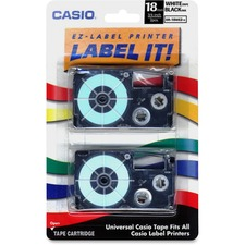 Casio XR18WE2S Label Tape