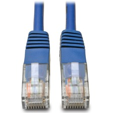 Tripp Lite 1 ft CAT 5e Patch Cable - Blue