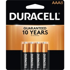 Duracell Coppertop Alkaline AAA Battery - MN2400 - For Multipurpose - AAA - Alkaline - 8 / Pack