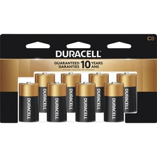 DUR MN14RT8Z Duracell Coppertop Alkaline C Batteries DURMN14RT8Z