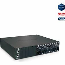 TRENDnet TFC-1600 16-Bay Fiber Converter Chassis System