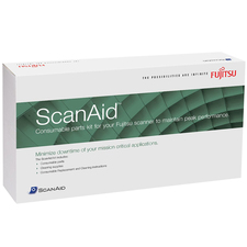 Fujitsu ScanAid Consumable and Cleaning Kit for fi-5900C Scanner