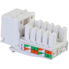 Cables To Go CAT6 Keystone Jack