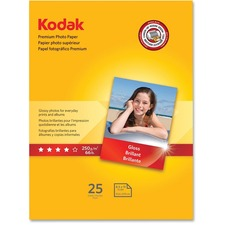 KOD 8689283 Kodak Premium Gloss 8.5 mil Photo Paper  KOD8689283