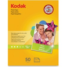 KOD 1213719 Kodak Basic Glossy 6.5 mil Photo Paper KOD1213719