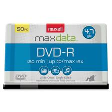 MAX 638011 Maxell 16X Speed Branded DVD-R Spindle MAX638011