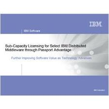 IBM WebSphere Application Server for Developers with 1 Year Software Subscription and Support for Developers - License - 1 User