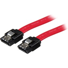 Startech 1 ft Latching SATA Straight Cable