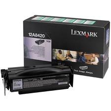 LEX12A8420 - Lexmark Toner Cartridge