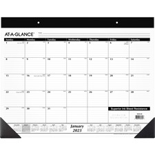 AAGSK2200 - At-A-Glance Monthly Desk Pad