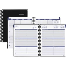 AAG70CP0105 - At-A-Glance Collegiate Weekly/Monthly Appointment Book