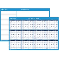 AAG PM20028 At-A-Glance Erasable Yearly Horiz. Wall Planners AAGPM20028