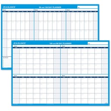 AAG PM23928 At-A-Glance 90/120-Day Erasable Wall Planner  AAGPM23928