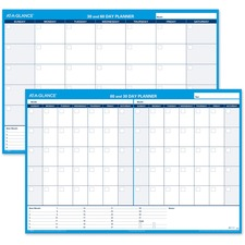 AAGPM33328 - At-A-Glance 30/60 Day Undated Horizontal Wall Planner
